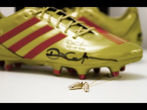 The Making of Dan Carter's Miniature Gold and Diamond Rugby Boots at The Village Goldsmith