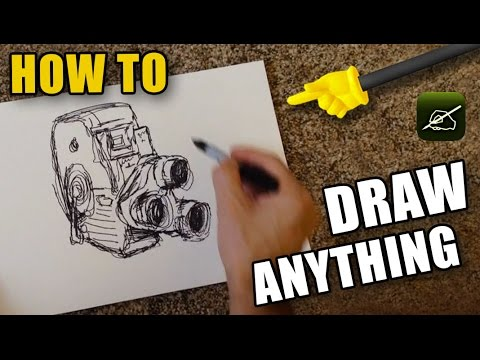 HOW TO Draw Anything! (Camera Lucida Review) - Knoptop