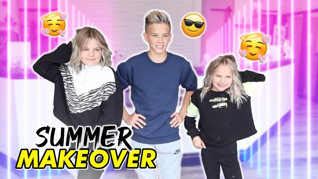 Rhett, Reese And Perri Get Summer Haircuts and Colors   The LeRoys
