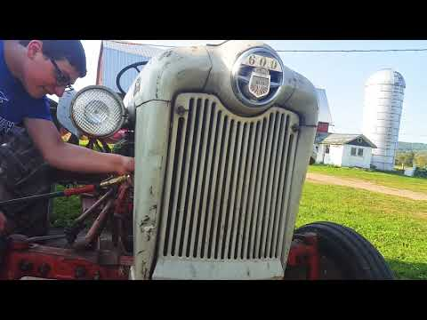 How to clean a radiator for a tractor
