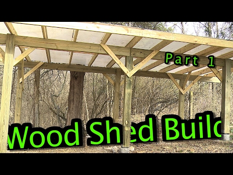 Wood Shed Build  ||  Part 1