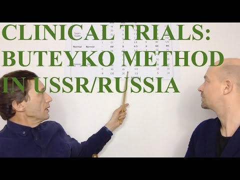 Clinical Trials of the Buteyko Breathing Method in USSR/Russia