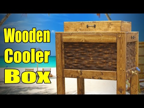 Make A Wooden Cooler Box - 182
