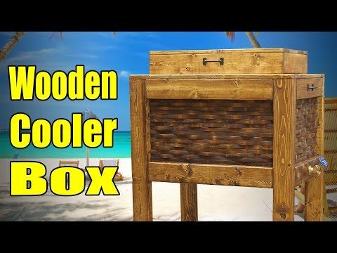 Make A Wooden Cooler Box - 182
