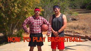 """How to Play Basketball"" The Juan And Jesús Show - David Lopez"