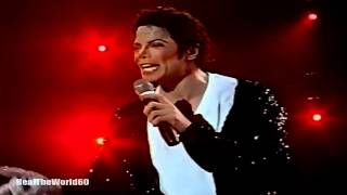Michael Jackson Billie Jean Live Auckland (Rare)  Enhanced & Remastered 2k (1440p) Full screen DTS