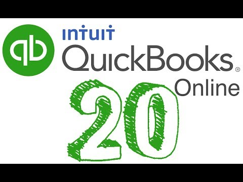 20. Quickbooks Online - HOW TO RECORD SALES TAX   2018
