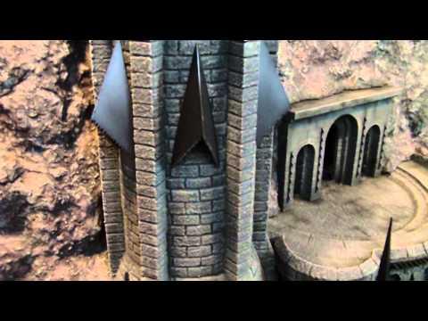 TerranScapes - Castle Finished - LOTR Terrain