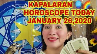 🌜KAPALARAN 🔮🌠 HOROSCOPE 🌛TODAY JANUARY 26,2020-Apple Paguio7