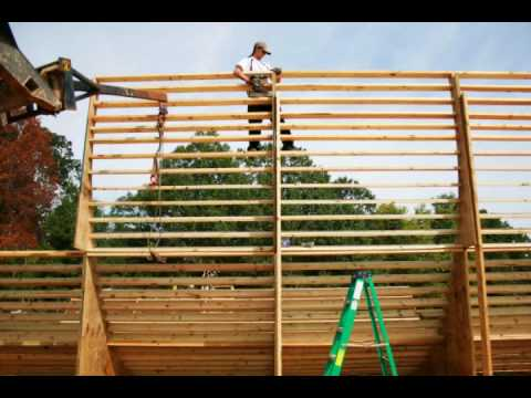 Building a Skating Vert Ramp 40ft wide Half-Pipe