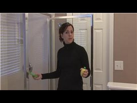 Housekeeping Tips : How to Remove Hard Water Stains on Glass Shower Doors