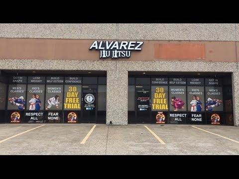 Take a Tour of Alvarez Jiu Jitsu in Arlington TX - 15,300 sq ft!