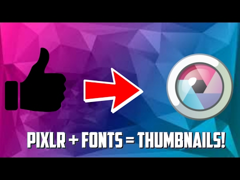 How To Install A Font And Add It On Pixlr