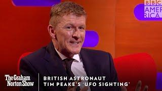 Astronaut Tim Peake's 'UFO Sighting' in Space 🛸 The Graham Norton Show | Fri 11/10c | BBC America