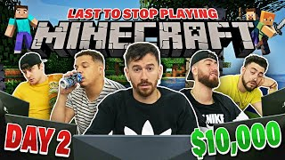 Download Last To Stop Playing Minecraft Wins $10,000 - Challenge Video