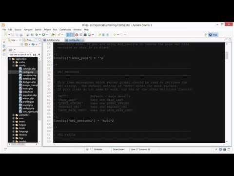 CodeIgniter Tutorial 14 - Language Class (part 1 of 4)