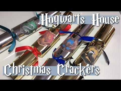 Harry Potter DIY | Hogwarts House Christmas Crackers | KWIKSPELLCO