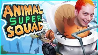 THIS CLOUD IS A JERK! [Animal Super Squad Ep. 2]