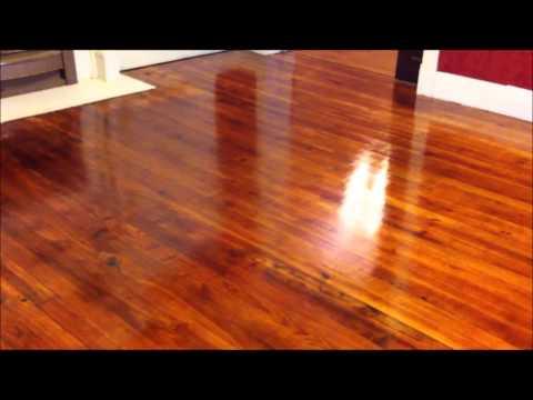 Refinishing Wood Floors Part 4