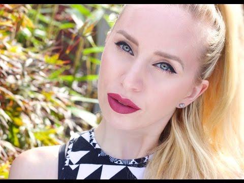 LIPSTICK CHALLENGE - FULL FACE USING ONLY LIPSTICK | MUA Cosmetics