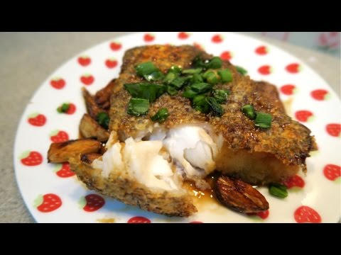 Super Simple Crispy Cod with Soya Sauce Syrup