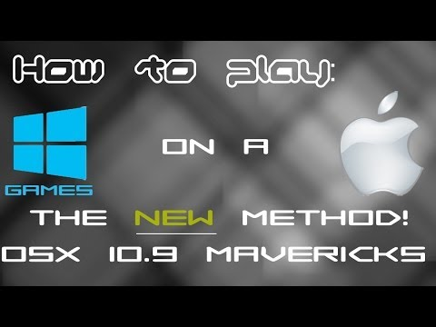 (OSX 10.9 Mavericks) How to play windows games/steam modifications on a Mac [New Video]