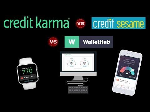 BEST FREE CREDIT SCORE SITE — Credit Karma vs. Credit Sesame vs. WalletHub