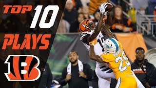 Bengals Top 10 Plays of the 2016 Season | NFL Highlights