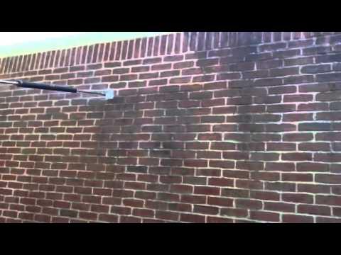 Brick Wall Powerwashing