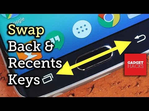 Swap the Back & Recent Apps Buttons on Your Samsung Galaxy S6 [How-To]