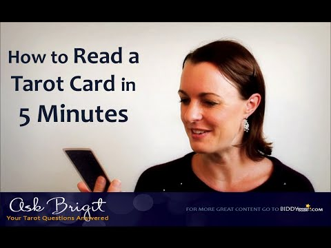 Ask Brigit: How to Read a Tarot Card in 5 Minutes