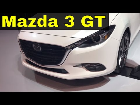 2018 Mazda 3 GT Review-Interior And Exterior