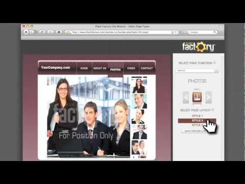 FlashFactory.com - Easy Website Builder