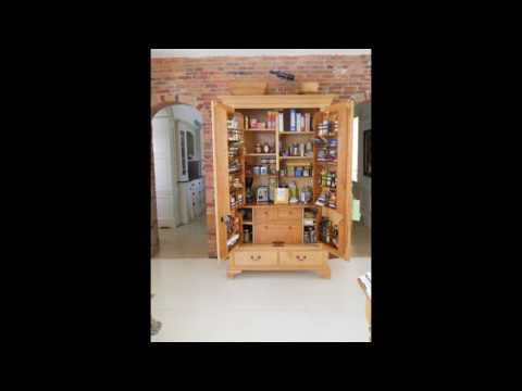 free standing kitchen pantry furniture