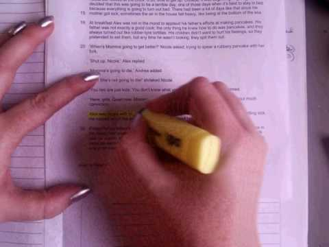 GCSE English Language Paper 1 Q4  the 'evaluation' question
