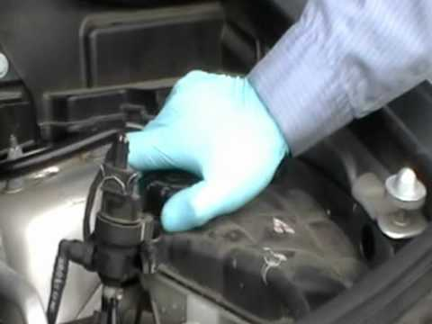 How to check the coolant level on a Mercedes Benz