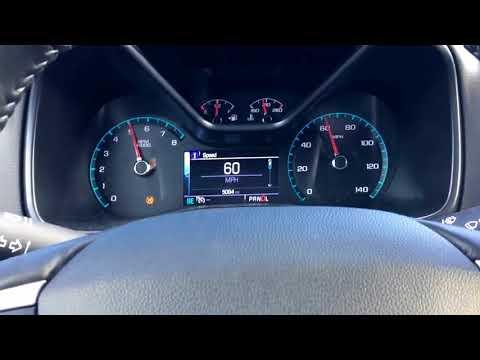2018 Chevrolet Colorado 3.6L 0-60