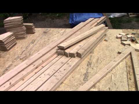Building Roof Trusses!  How HOW Does It!