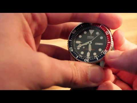 How To Set Time/ Day/ Date On Seiko Automatic Watch!