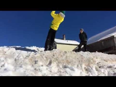Frozen Flips (freerunning in snow)