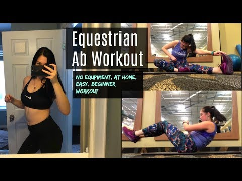 Easy Equestrian Core Workout   Becoming a Better Rider