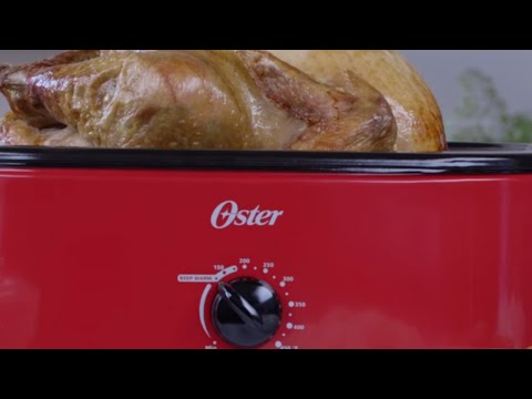 Oster® Roasters  - Tips for Keeping Food Warm