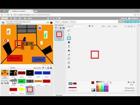 How to make a fnaf fan game on Scratch: Part 4