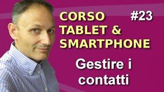 # 23 Gestire i contatti - Maggiolina - Corso Tablet e Smartphone