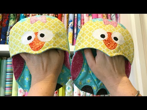 Quick and Easy Owl Oven Mitts