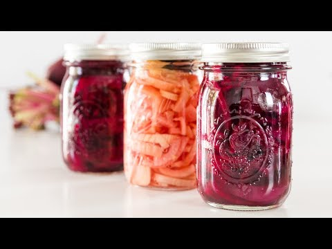Three Canned Beet Recipes