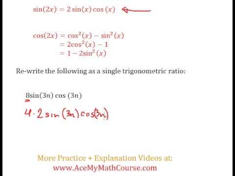 Double Angle Identities (Trigonometry) - Question #2
