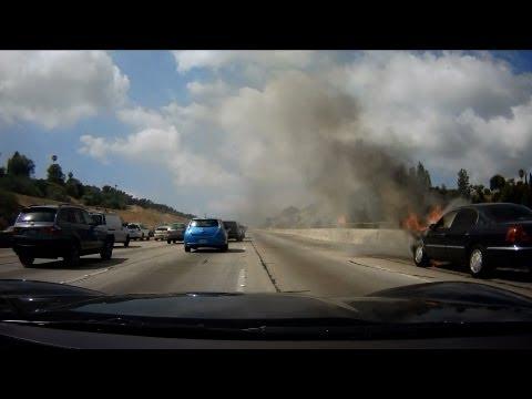 405 - Episode 6 - Using Waze to Avoid a Speeding Ticket - Burning Car