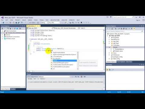 Create Web Api using  Asp.net MVC(Web Api)  Part - 1