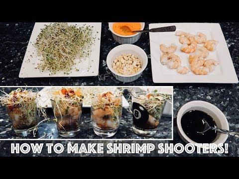 How to make Shrimp Shooters !